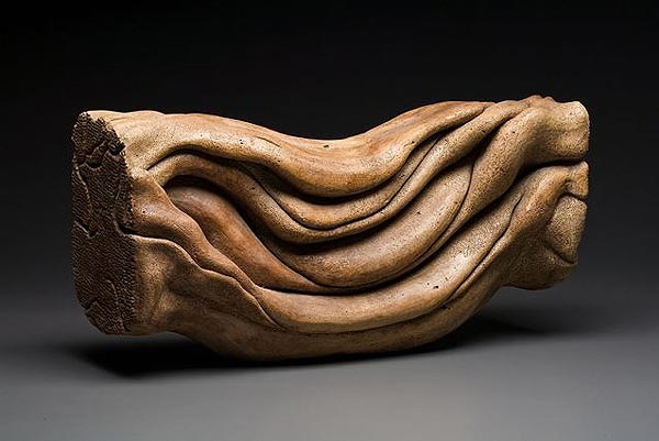Sculpture by Carole Murphy - In the Flow View 2