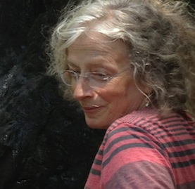 Portrait of Carole Murphy, Pacific Northwest Sculptor of Aerated Cement and Found Objects