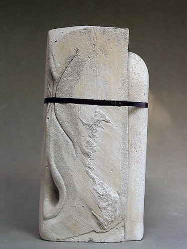 Carole Murphy Sculpture Aerated Cement Art