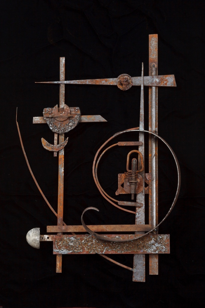 #foundmetal #assemblage #sculpture #steel