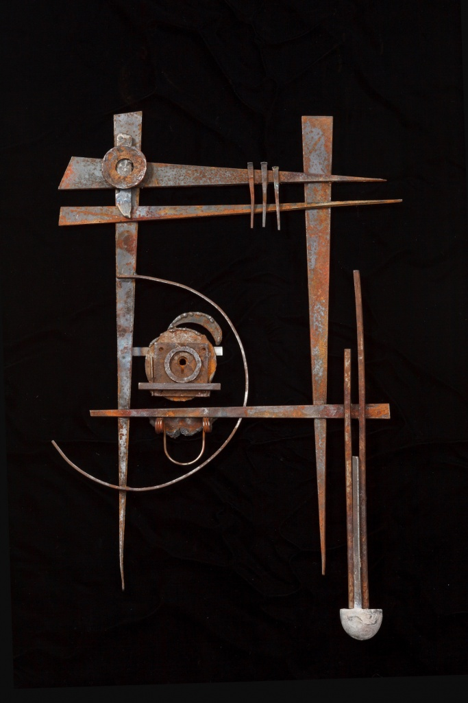 #sculpture #Mixedmedia #assemblage #steel