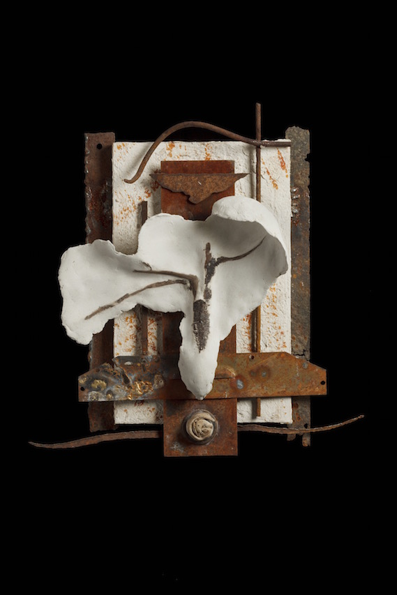 Carole Murphy Sculpture Found Metal Assemblage Art